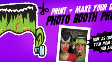 Halloween Photo Booth Props... Mwa Ha Ha Ha!