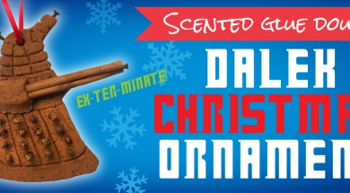 Scented Dalek Doctor Who Christmas Ornaments