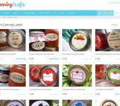 CanningCrafts Canning Labels Website